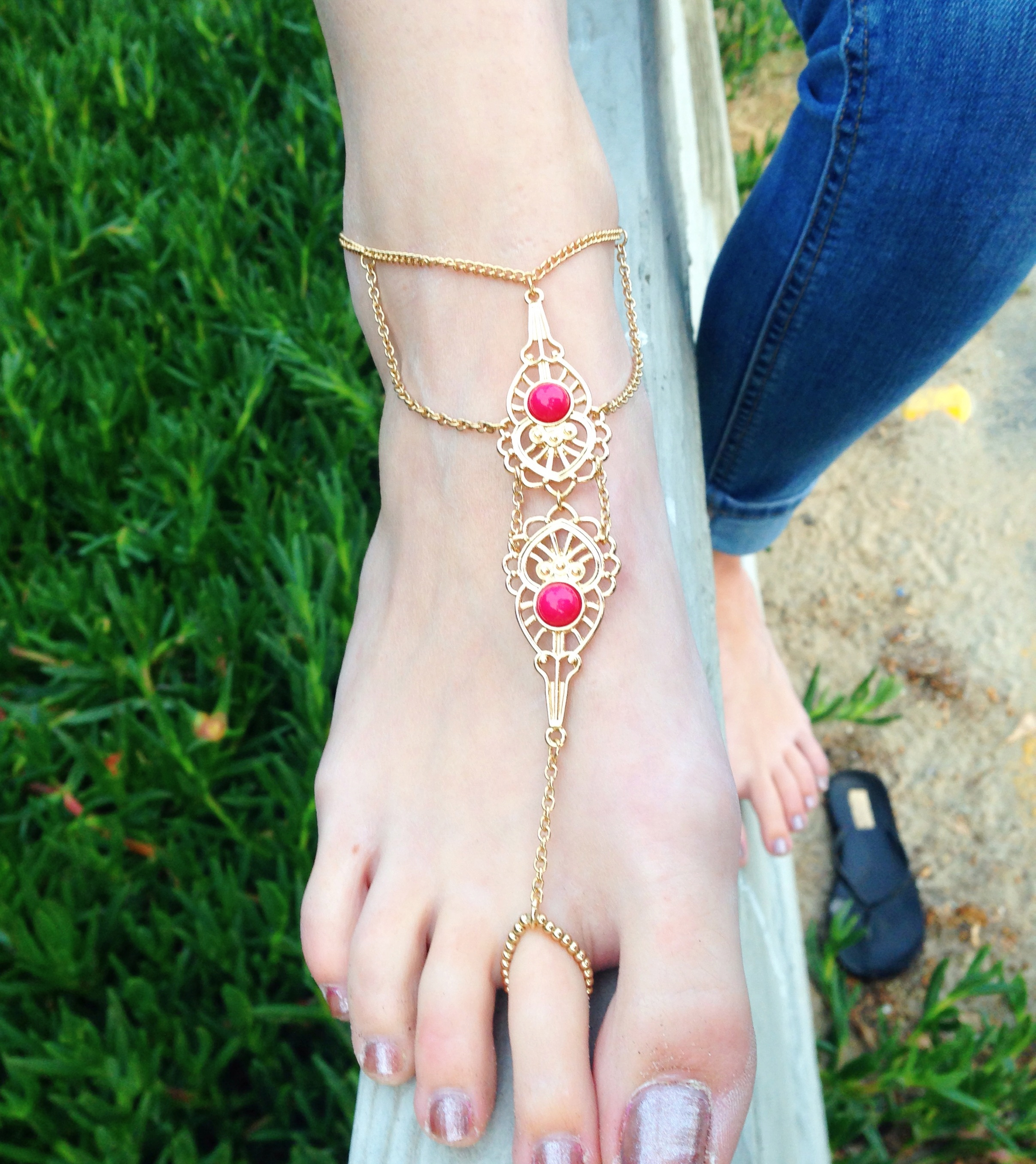 dreamer bohemian anklet products ocean hippie anklets dreams boho dixi share shop