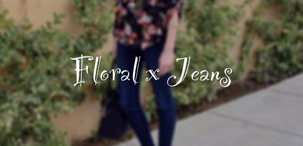 Floral x Jeans