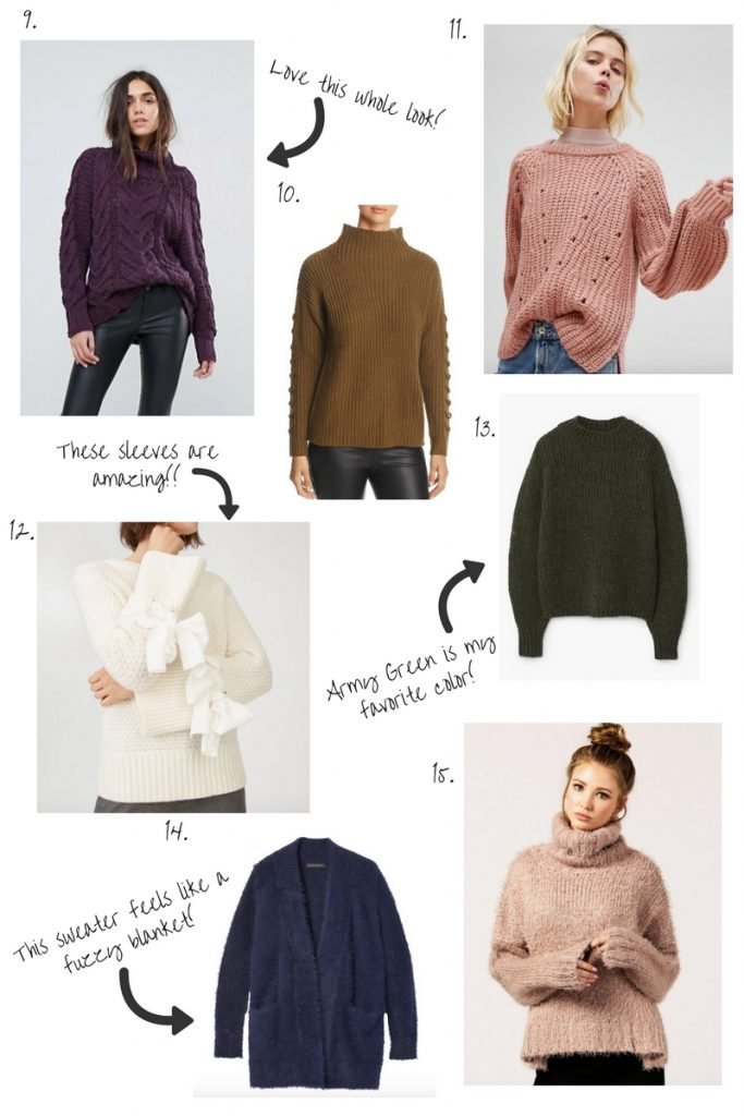 3f294a50d7 Serious love for chunky sweaters